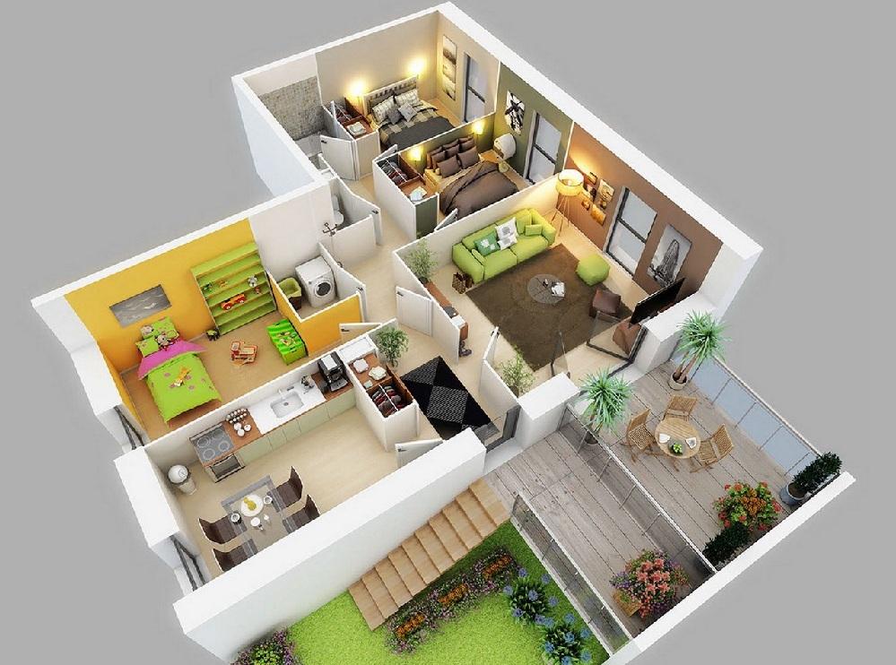 Проект квартиры в картинках